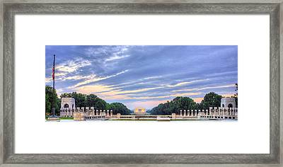 The Mall Framed Print by JC Findley