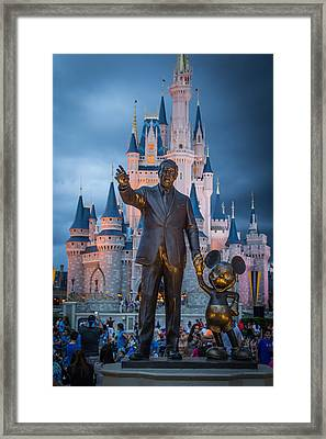 The Man And His Creation Framed Print by Andrew Delos Santos