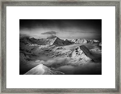 The Man And His Dream Framed Print by Peter Svoboda