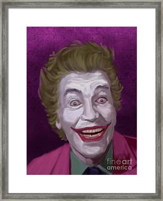 The Man Who Laughs Framed Print by Jeremy Nash