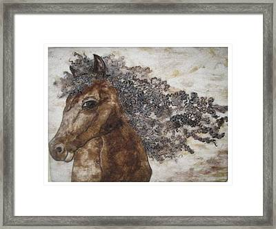 The Mane Affair Framed Print