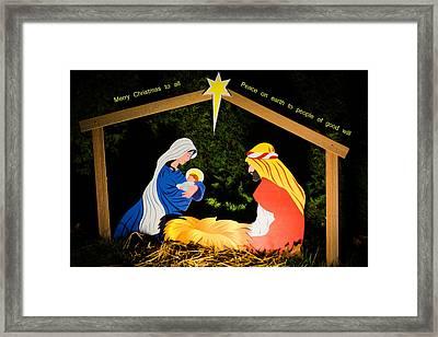 O Holy Night Framed Print