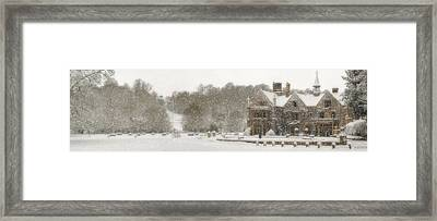The Manor House Framed Print