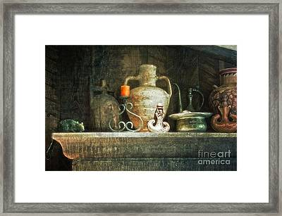 Framed Print featuring the photograph The Mantle by Vicki DeVico
