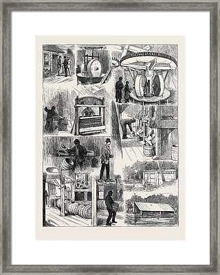 The Manufacture And Storage Of Gunpowder 1. Giving Framed Print