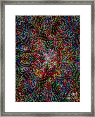 The Manufactured Purpose Framed Print by J Burns