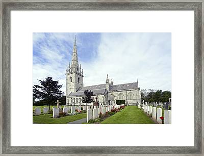 The Marble Church Framed Print by Ian Kydd Miller