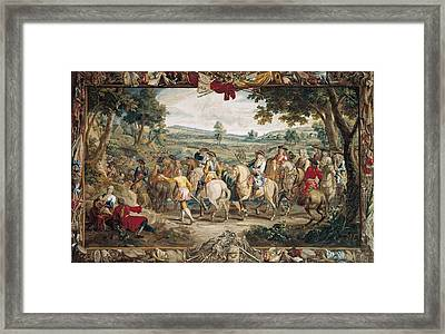 The March. 17th C. Germany. Munich. New Framed Print by Everett