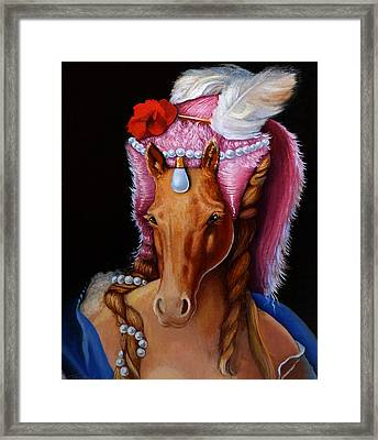The Mare As Queen Framed Print