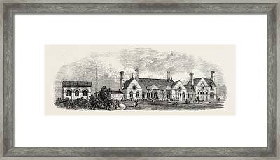 The Margate Station Of The East Kent London Framed Print by English School