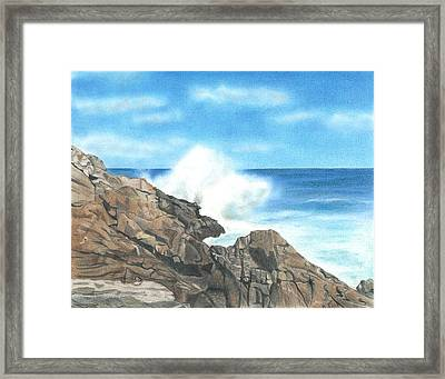 The Marginal Way Framed Print by Troy Levesque
