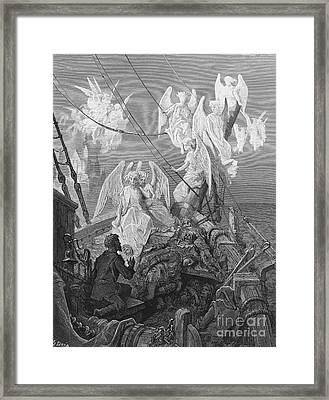 The Mariner Sees The Band Of Angelic Spirits Framed Print
