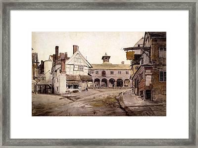 The Market Place, Ross, Hertfordshire Framed Print