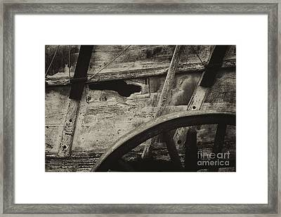 The Marks Of Age Framed Print by Paul W Faust -  Impressions of Light