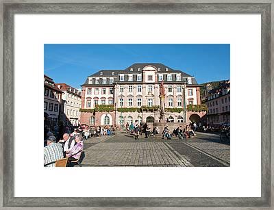 The Marktplatz, Or Market Square Framed Print by Michael Defreitas