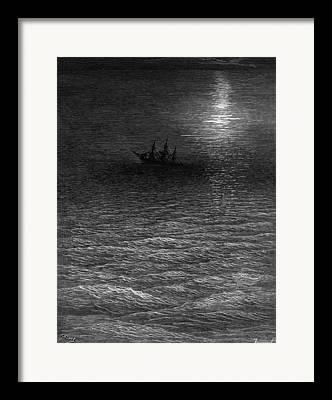 Dark Skies Drawings Framed Prints