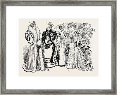 The Marriage Of Princess Marie Of Edinburgh 1. Princess Framed Print by English School