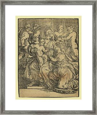The Marriage Of St. Catherine Framed Print