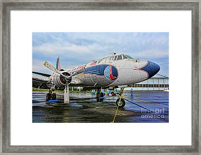 The Martin 404 - Eastern Airlines Framed Print by Lee Dos Santos