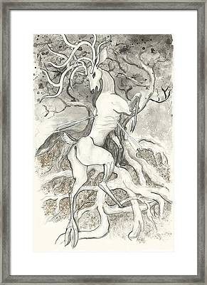 The Martyr Framed Print by Melinda Dare Benfield