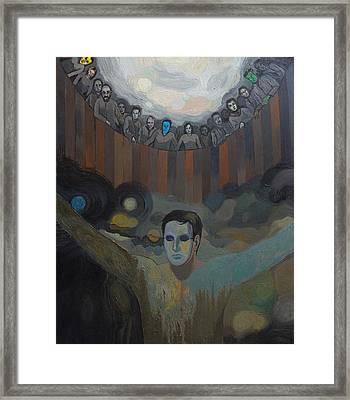 The Mask Framed Print by Fernando Alvarez