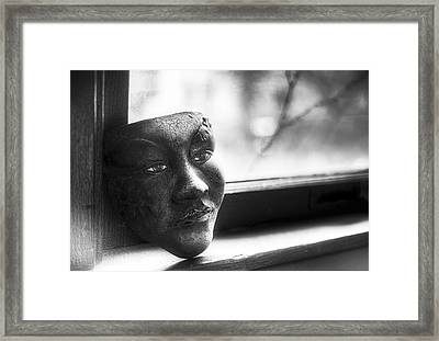 The Mask Framed Print by Scott Norris