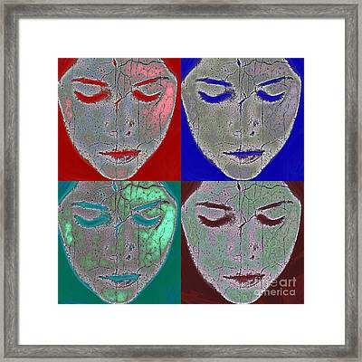 The Mask Framed Print by Stelios Kleanthous
