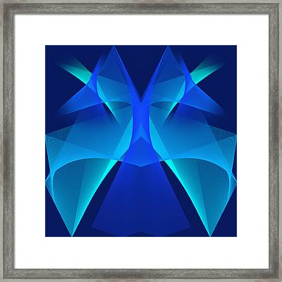 Framed Print featuring the digital art The Mask#2 by Karo Evans