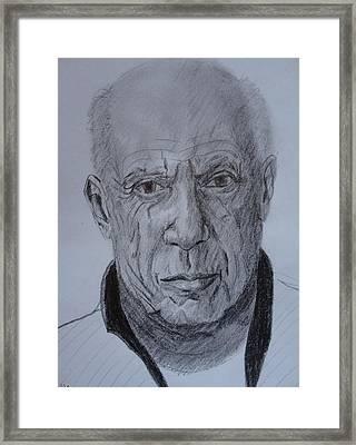 The Master Framed Print by Dagmar Helbig