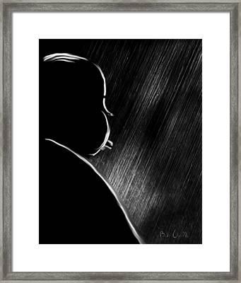 The Master Of Suspense Framed Print by Bob Orsillo