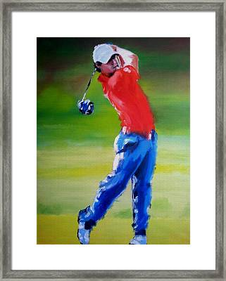 Driving Force Framed Print by Oliver McParland