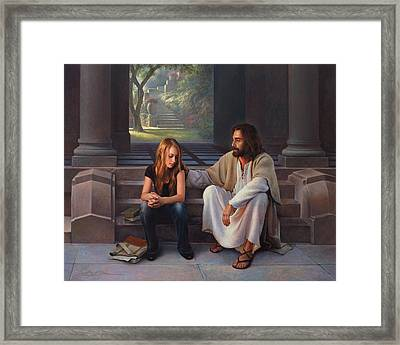 The Master's Touch Framed Print by Greg Olsen