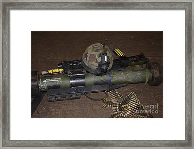 The Matador Light Anti-tank Weapon Nlaw Framed Print by Andrew Chittock