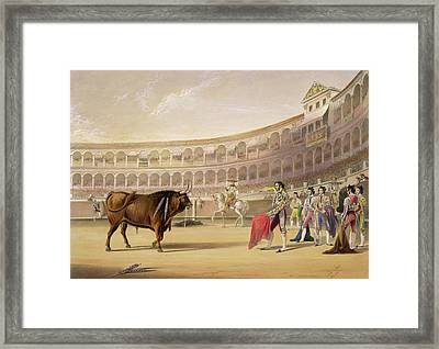 The Matador Framed Print by William Henry Lake Price