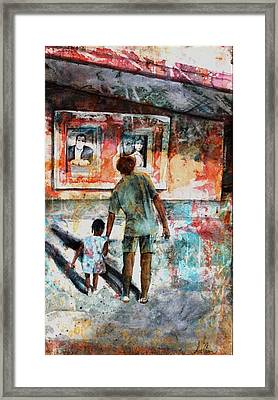 The Matinee Framed Print by Ron Carson
