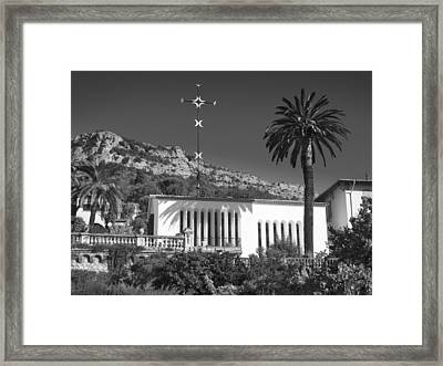 Framed Print featuring the photograph The Matisse Chapel Vence by Richard Wiggins