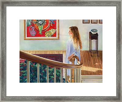 The Matisse Framed Print