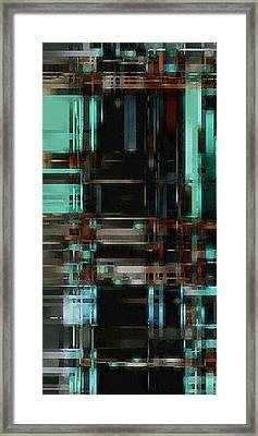 The Matrix 3 Framed Print