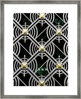 The Matrix Framed Print by Ira Shander