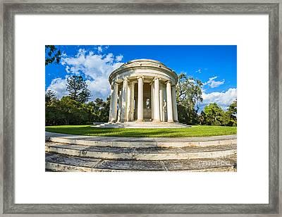 The Mausoleum - Of Henry And Arabella Huntington. Framed Print by Jamie Pham