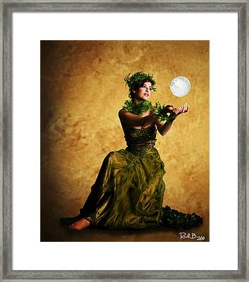 The May Queen Framed Print by Rick Buggy