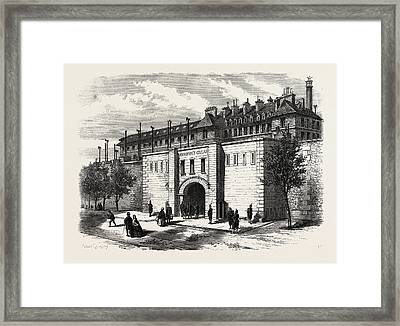 The Mazas Prison Paris France Framed Print