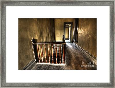 Historic Meade Hotel Montana 3 Framed Print by Bob Christopher