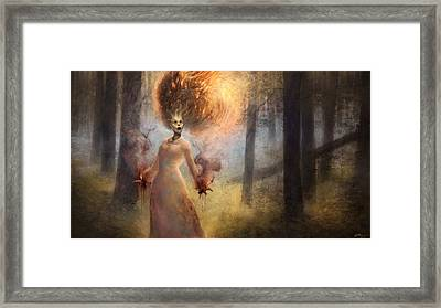 The Meadow Witch  Framed Print by Ethan Harris