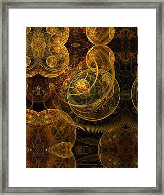 The Mechanical Universe Framed Print by Gayle Odsather