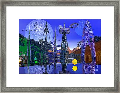Framed Print featuring the photograph The Mechanical Wonder by Mark Blauhoefer