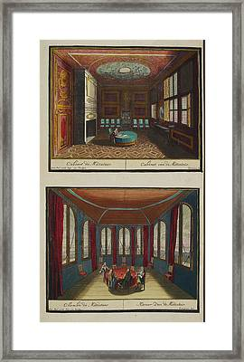 The Mediator's Study Framed Print by British Library