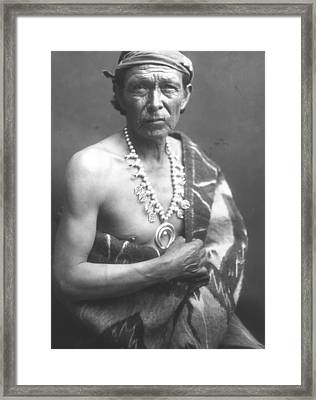 The Medicine Man Framed Print