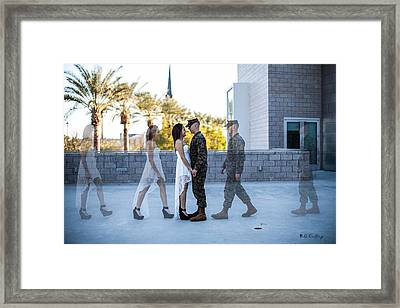 The Meet Framed Print by Bill Cantey