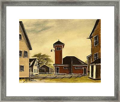 The Meeting House Framed Print